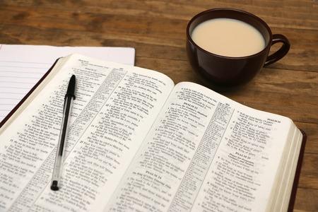 Photo pour Bible Study - image libre de droit