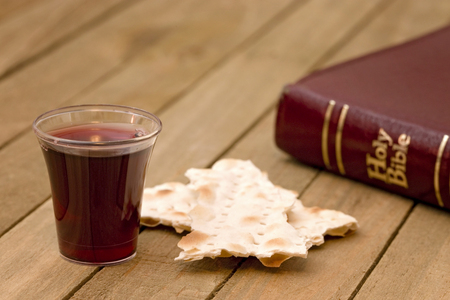 Photo for Christian Communion - A Celebration of the Jesus' Death - Royalty Free Image