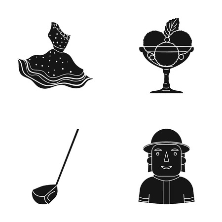 People Of Different Professions Monochrome Icons In Set Collection For  Design. Worker And Specialist Vector Symbol Stock Stock Vector -  Illustration of different, people: 115868810