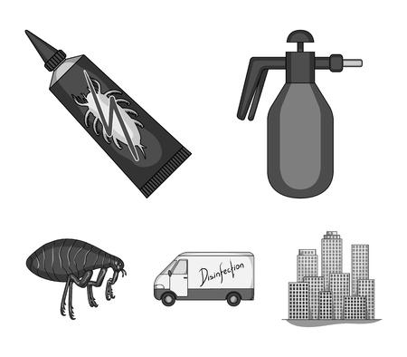 Pest Control Service vector symbol stock web illustration