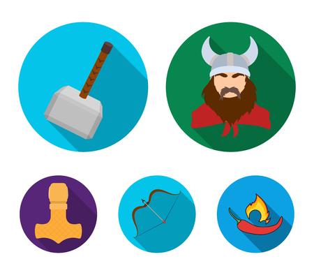 4cbfa3527ee55 vector vikings icon logo template design simple flat isolated ...