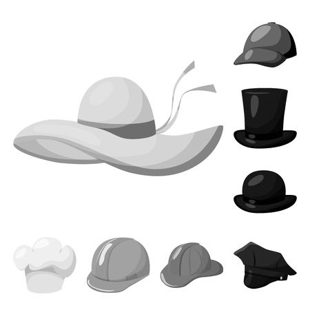Black White Cartoon Illustration Funny Female Stock Illustration 133292657