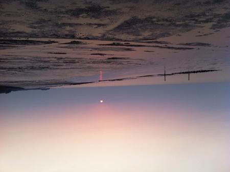 Sunset, Bangpoo, Thailand