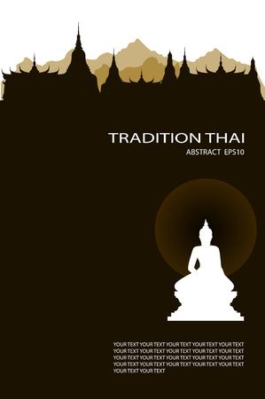 Illustration pour illustration of buddha royal - image libre de droit