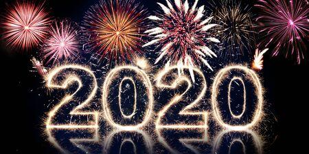 Photo pour beautiful concept design for the new year festival - image libre de droit