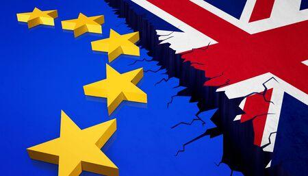Foto de Vote for United Kingdom exit concept - Imagen libre de derechos