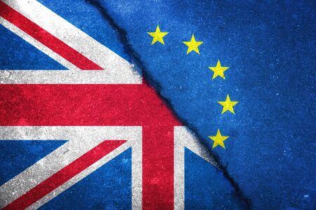 Photo pour Vote for United Kingdom exit concept - image libre de droit