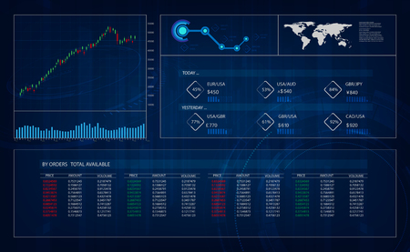 Hud Gui Interface Trading Great