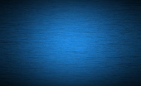 Foto de Brushed metal texture background with abstract blue surface - Imagen libre de derechos