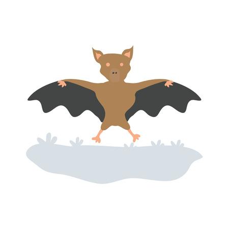bat - Halloween vector