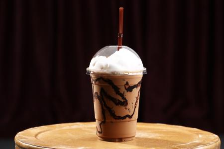 Mocha ice coffee