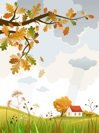 Foto de Autumn scenery - Imagen libre de derechos