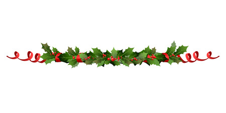Ilustración de Christmas holiday line - Imagen libre de derechos