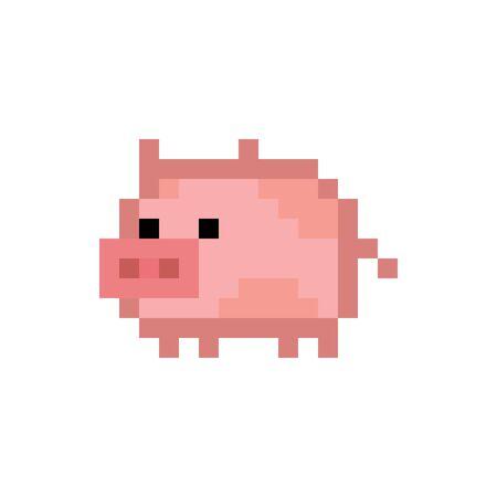 Pixelated Pig