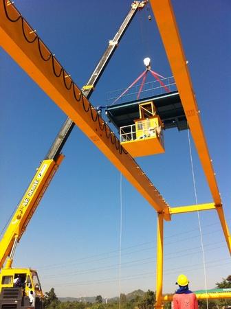 Installation gantry crane