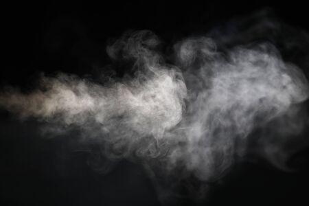 Foto de image of smoke with black background - Imagen libre de derechos