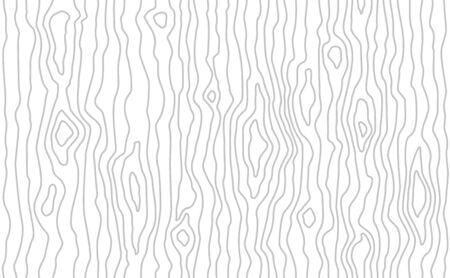 Photo pour Seamless wooden pattern. Wood grain texture. Dense lines. Light gray background. Vector illustration - image libre de droit