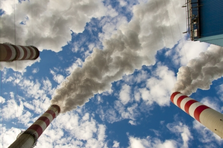 Big pollution in polish coal power plant