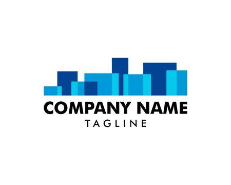 Photo pour Town Logo Template Design Vector - image libre de droit