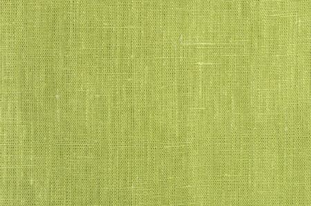green close up linen texture background