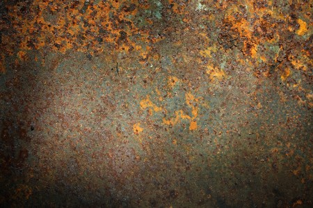 Old corroded metal background