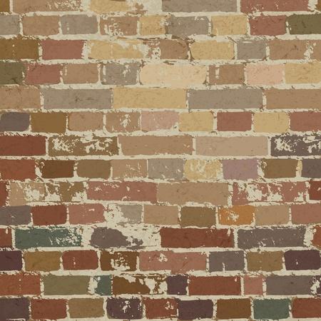 Old brick wall pattern.