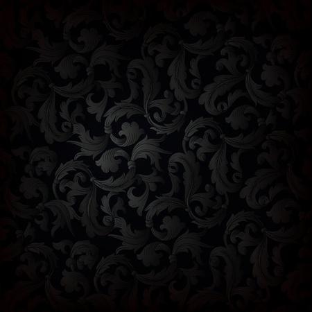 Illustration pour Dark retro wallpaper background - image libre de droit