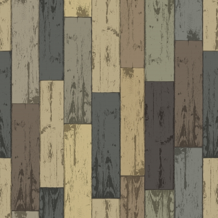 Wooden multi-color planks  Seamless pattern,