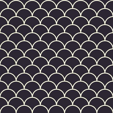 Foto de Fish Scales Seamless Pattern - Imagen libre de derechos