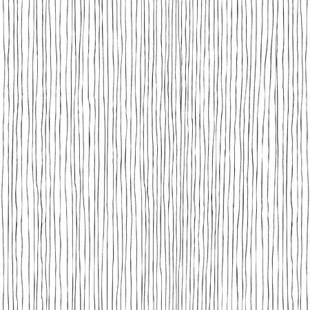 Seamless vertical lines hand-drawn pattern