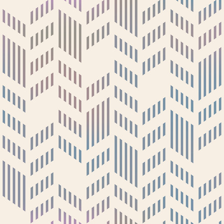 Illustration for Abstract Seamless Geometric Vector Chevron Pattern. Mesh background seamless too. - Royalty Free Image