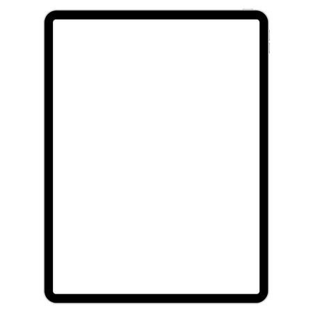 Illustration pour drawing pad for illustrators on white background vector - image libre de droit