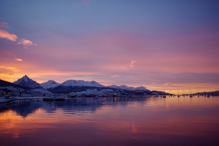 Canal de Beagle Ushuaia Patagonia Argentina