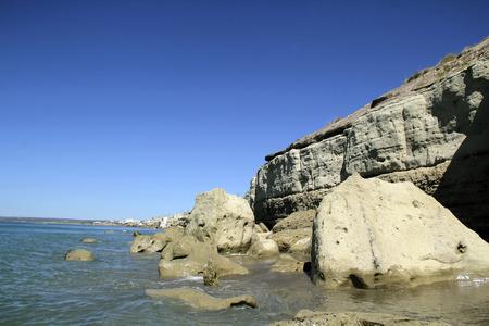 Cliff at sea