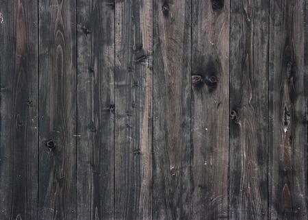 Foto de aged dark wood panels wall background for vintage design texture. - Imagen libre de derechos