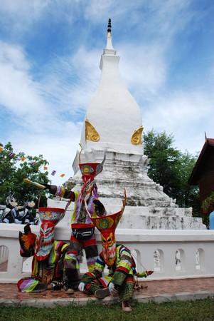 Pee Ta khon in Loei, Thailand