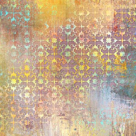 Foto de flower pattern background,art design,grunge texture background - Imagen libre de derechos