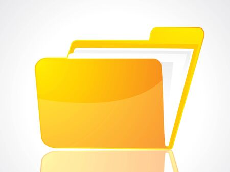 abstract folder icon vector illustration