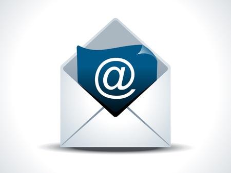 Illustration pour abstract mail icon vector illustration - image libre de droit