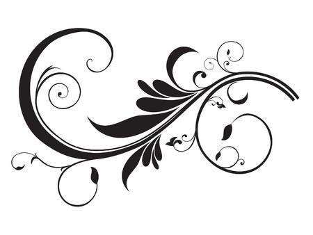 Illustration pour abstract artistic floral template vector illustration - image libre de droit