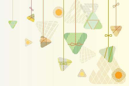 Ilustración de Rice Dumplings background graphic design for the dragon boat festival - Imagen libre de derechos
