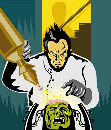 Dr Frankenstein at work