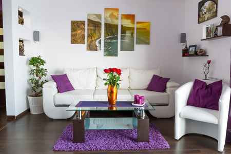 Photo for Modern living room interior - Royalty Free Image
