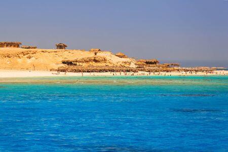 Lagoon of the Red Sea at Mahmya island, Egypt