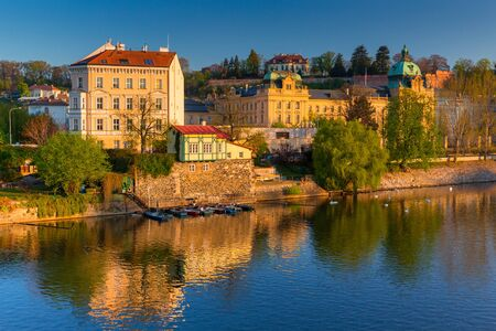 Photo for Beautiful old town in Prague at sunrise, Czech Republic - Royalty Free Image
