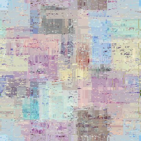 Photo pour Abstract seamless pattern with imitation of a grunge dirty texture. Vector image. - image libre de droit