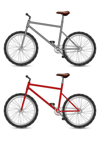 Illustration pour Bicycle vector design illustration isolated on white background - image libre de droit