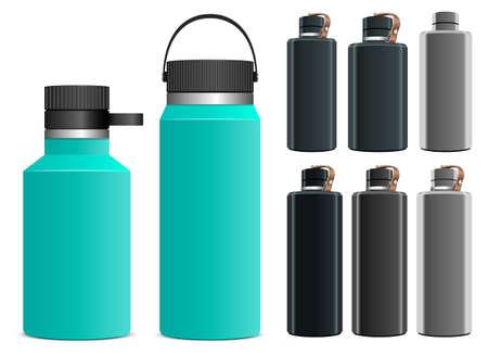 Illustration pour Sport water bottle vector design i llustration isolated on white background - image libre de droit