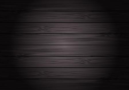 Dark gray wood texture pattern vintage background vector illustration.