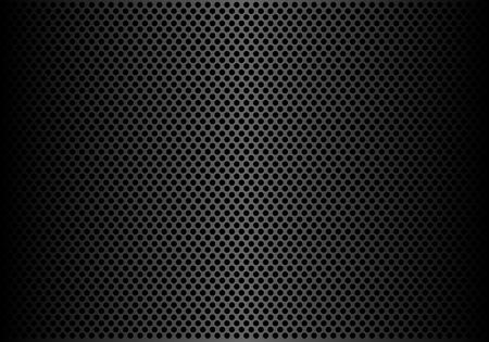 Illustration pour Abstract dark gray circle mesh pattern background texture vector illustration. - image libre de droit